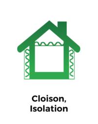 Cloison, isolation