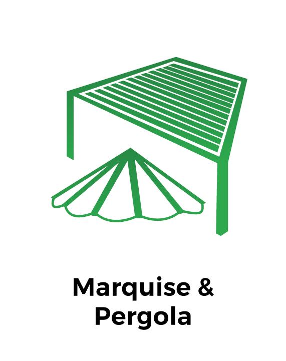 Marquises et pergolas
